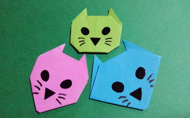 ネコの折り方__3種類