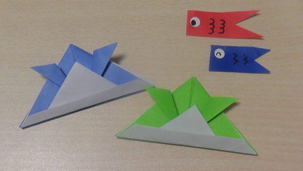 動画解説付:子どもの日は伝承折り紙の「かぶと」を作ろう